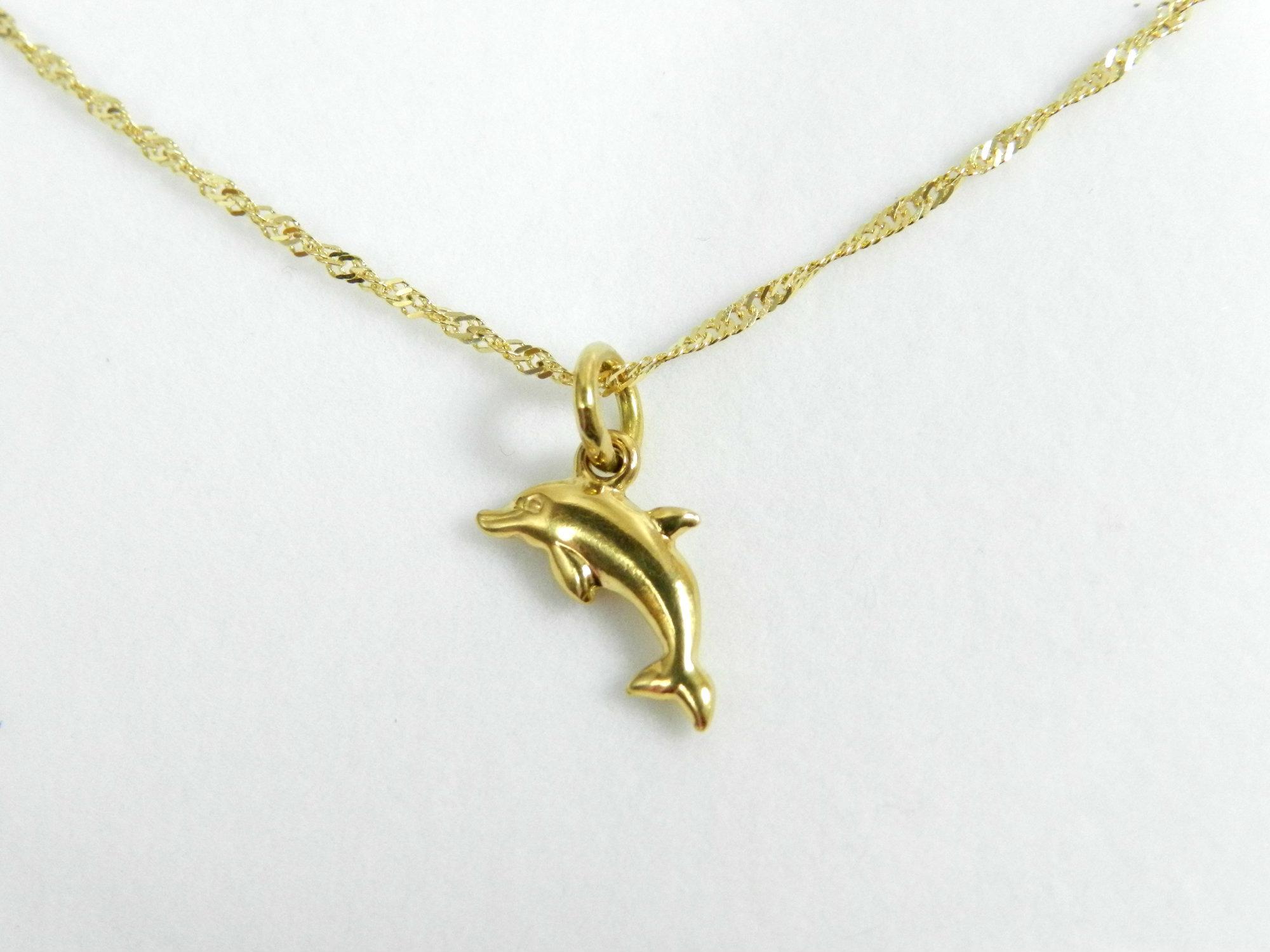 nuevo estilo 9c05f 983db Colgante oro Delfín 406 - Servan Joyeria Online